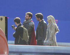 "liam, Jared, Colin and Jennifer Morrison - 5 * 1 "" Dark Swan"" 14 July 2015"