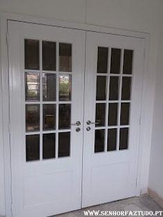 SENHOR FAZ TUDO - Faz tudo pelo seu lar !®: Pintura de portas e aduelas em Santa Iria da Azoia...