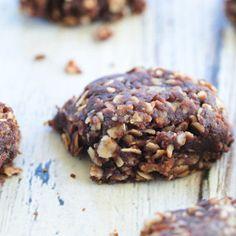 Healthy No-Bake Chocolate Cookies