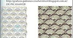 Resultado de imagen de http://graficos-patrones-crochet-tricot.blogspot.com.ar/