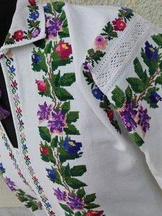 Cross Stitch Rose, Folk Costume, Machine Embroidery, Needlework, Kids Outfits, Crochet Patterns, Christmas Decorations, Textiles, Bride