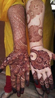 Henna Design By Fatima Khafif Mehndi Design, Floral Henna Designs, Henna Art Designs, Mehndi Designs For Girls, Indian Mehndi Designs, Modern Mehndi Designs, Wedding Mehndi Designs, Mehndi Design Pictures, Latest Mehndi Designs