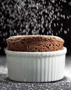 Chocolate Soufflé by Daniel Boulud | Light and airy, yet rich with chocolate, this classic soufflé is sheer decadence—and with Chef Boulud's instruction, mastering this gravity-defying dessert is within your reach. Just follow his tips for preparing the ramekins and whipping the egg whites, and you'll be amazed by how something so deliciously impressive can be so easy to make.