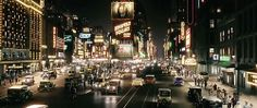 """Cityscape from """"The Great Gatsby"""" (2012)"""