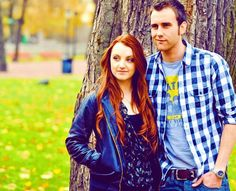 It would be just perfect if they got together. (I mean Matt and Evanna, not Luna and Neville. Luna marries a naturalist named Rolf so she's already taken!)