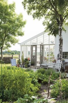 Gotland summer house garden Scandinavia ; Gardenista. Every photo is wonderful.