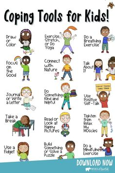 Kids Coping Skills, Coping Skills Activities, Counseling Activities, School Counseling, Therapy Activities, Learning Activities, Activities For Kids, Emotional Child, Social Emotional Learning