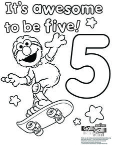 It's awesome to be five.