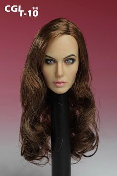 Female Base Body w//Head Sculpt /& Rooted Hair Ver. 1//6 Scale Toy The Last Girl