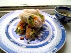 my Vietnamese spring rolls