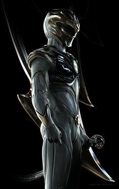 White Ranger, Power Rangers Redesign Artwork by Carlos Dattoli