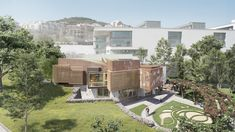 EMBT Breaks Ground on Pioneering Cancer Center in Barcelona