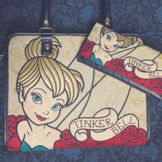 With all that sass Tinkerbell has to be one of our favourite Disney characters! #blamebetty #tinkerberll #disneypurse