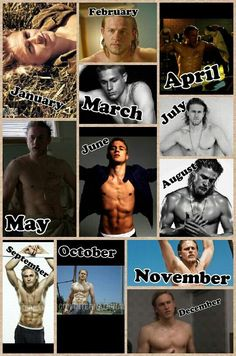 My favorite year :-) April March, My Favorite Year, What Month, Charlie Hunnam Soa, Jax Teller, Sons Of Anarchy, Hot Guys, Hot Men, Sexy