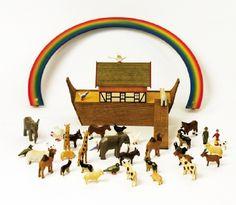 Holzmodell Arche Noah
