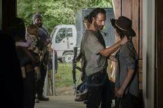 Michonne, Judith, Tyreese, Daryl, Rick, Carl | The Walking Dead