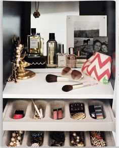 I need this. My compulsive cleanliness does not match the amount of makeup I need storage room for.