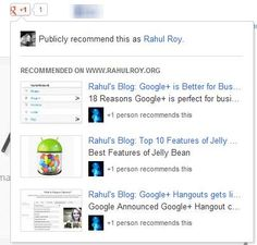+1 Recommendations across the Web are rolling out For Everyone