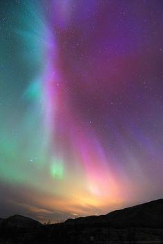 ノルウェー、9月のオーロラ