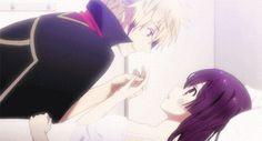 Cute Anime Kiss (Anime: Tokyo Ravens)
