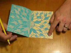 ▶ Crayon Art, Transfer Print - Kinsy McVay - YouTube