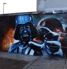 Graffiti Kings Star Wars Art