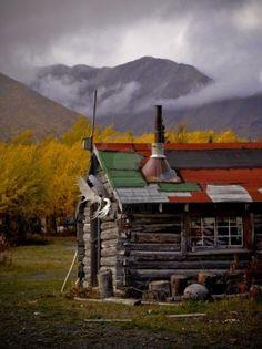 Native Cabin, Yukon Territory, Canada (pinned by redwoodclassics.net)