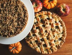 Happy Thanksgiving! We've got our turkey roasting in the oven and dessert tempting us on the table. Pumpkin Crumble Tart and Honeycrisp Apple Pie. Hope you are surrounded by an abundance of love and food today. #thanksgiving #pie #homemade #onthetable #mycommontable #tastemade #myopenkitchen #feedfeed #food52 #f52grams #f52baking #kitchykitchen #cookculture #autumn #upandautumn #chasingautumn #artofslowliving #simpleandstill #livethelittlethings #thatsdarling #thehappynow