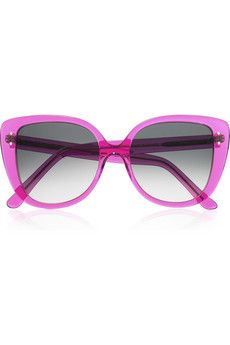 3ec148db17fa Selima Optique - Adri oversized cat-eye acetate sunglasses