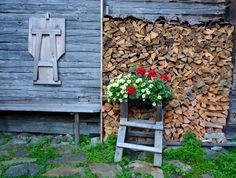 Osttirol Hohe Tauern Gschlösstal Firewood, Outdoor Structures, Texture, Crafts, National Forest, Surface Finish, Woodburning, Manualidades, Handmade Crafts