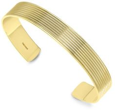 Theo Fennell Gold Whip Mens Torque Bangle in Gold for Men