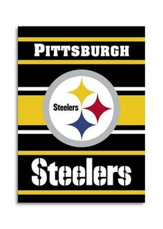 Pittsburgh Steelers Large Banner Flag