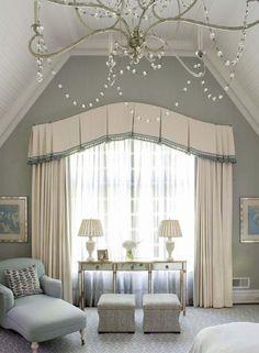 Дизайн штор - 40 фото для вдохновения