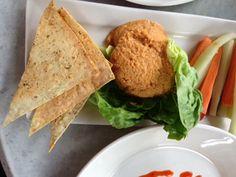 Hummus Appetizer at Bahama Breeze in Orlando.