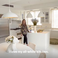 Gracie Wallpaper, All White Kitchen, Aerin Lauder, Style News, Ny Times,  Advertising Campaign, Pearl Ring, Runway Models, Luxury Branding