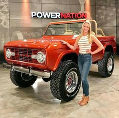 What& better than a classic pickup truck? How about a custom pickup truck. Love seeing what people do with their old pickup trucks. Enjoy this photo album Custom Pickup Trucks, Classic Pickup Trucks, Old Ford Trucks, Old Pickup Trucks, Lifted Chevy Trucks, Lifted Ford, Old Ford Bronco, Bronco Truck, Early Bronco
