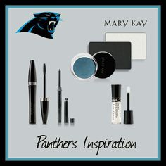 Carolina Panthers eye look with gloss! Order the whole look through me and get the lip gloss for free!! To get your Vikings look go to www.marykay.com/pbraessler or contact your MK Consultant