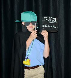 Awesome photo booth props