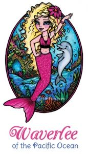 Mermaid stories, pictures, coloring pages, and real swimmable mermaid tails