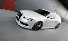 Audi Wagon - If I ever drove a wagon, it would look like this!