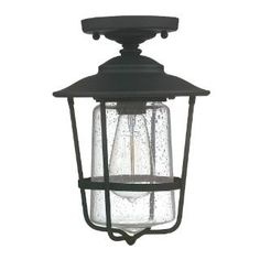 Check out the Capital Lighting 9607 Creekside 1 Light Outdoor Ceiling priced at $89.00 at Homeclick.com.