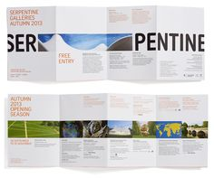 Noted: New Logo for Serpentine Galleries by Pentagram