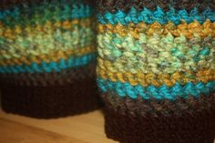 Crochet Women's Boot Cuffs April by SisterHippies on Etsy