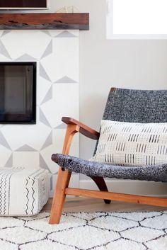 Modern Living Room photo by Veneer Designs
