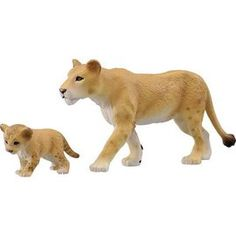 PChome Online 商店街 - playGO玩具館 - TAKARA TOMY ANIA探索動物★~AS17 獅媽媽與寶寶_ AN83201