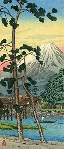 "Japanese Art Print ""Mt. Fuji from Tagonoura"" by Takahashi Shotei ... https://www.amazon.com/dp/B01KZXVVDQ/ref=cm_sw_r_pi_dp_x_dq.VxbSA6MSEY"