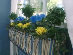 Planting A Window Box. Indoor Window BoxesWindow Planter ...