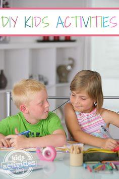 LOTS of Fun with DIY Kids Activities - Kids Activities Blog
