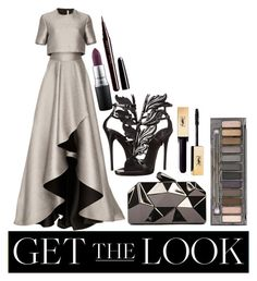 Get the Look: Met Gala 2016 by ethenknowsfashion on Polyvore featuring polyvore fashion style Jason Wu Giuseppe Zanotti WithChic Urban Decay MAC Cosmetics Marc Jacobs clothing