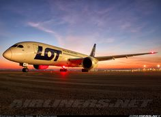 LOT - Polish Airlines / Polskie Linie Lotnicze SP-LRB Boeing 787-8 Dreamliner aircraft picture
